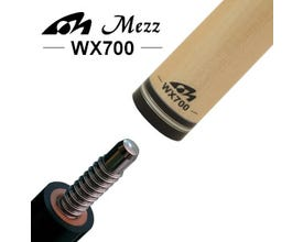Mezz WX700 Pool Cue Shaft - Wavy Joint - 30