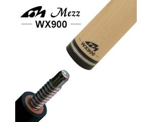 Mezz WX900 Billard Queue Oberteil - Wavy Gewinde
