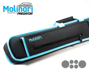 Molinari Soft bag 2x4 Black-Cyan