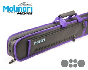Molinari Soft bag 2x4 Black-Purple