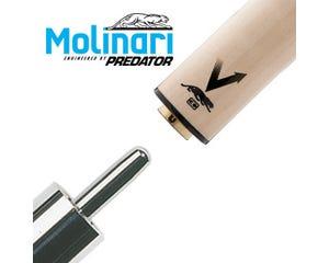Molinari by Predator Vantage Carom Billiard Shaft for Uni-Loc Joint 11.8 mm