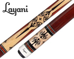 Layani Neptune Carom Billiard Cue - Bloodwood handle