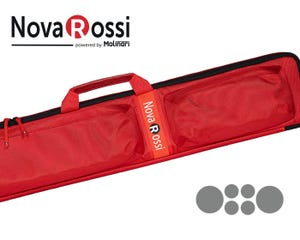NovaRossi 2x4 Cue Case - Red