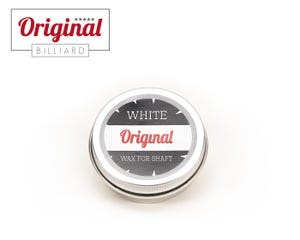 Original Billiard white wax