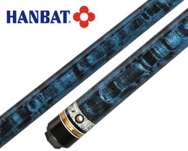 Hanbat Plus-6 Blau Karambol & Dreiband Billard Queue