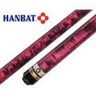 Hanbat Plus-6 Rosa Karambol & Dreiband Billard Queue