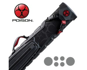 Poison 2x4 Armor 2 Pool Cue Case
