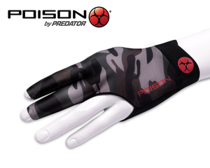 Poison Camo Green Left Hand Billiard Glove