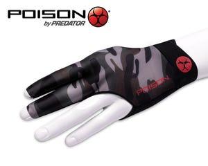 Poison Camo Green Left Hand Billiard Glove