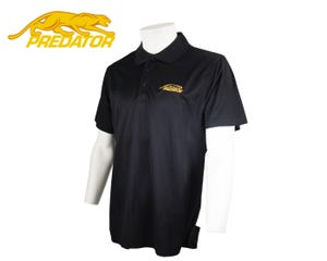 Predator Black Polo Shirt