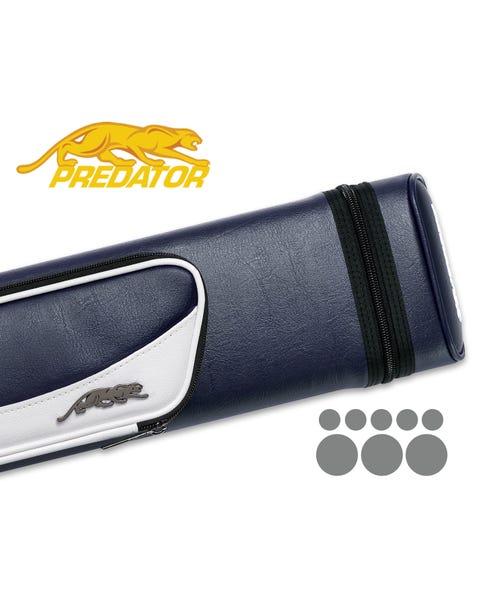 Etui rigide Predator Roadline 3x5 - Bleu/Blanc