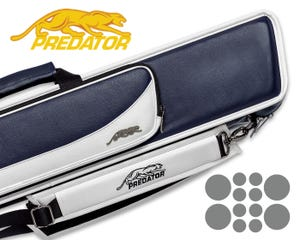 Predator Roadline 4x8 Soft Cue Case - Blue/White