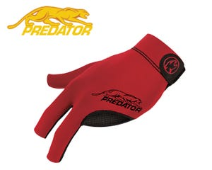 Predator SecondSkin Red billiard glove