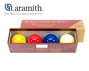 Super Aramith Tournament Carom Billiard 4 Balls Set