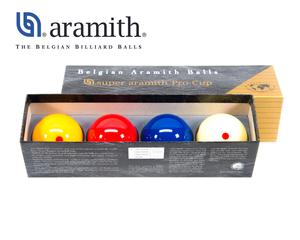 Aramith Pro-Cup 61,5 mm Karambol 4 Bälle