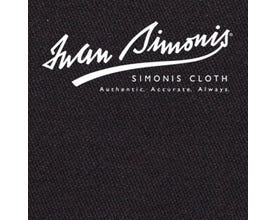 Simonis 300 Rapide Carom Billiard Cloth or Billiard Felt- Black