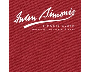 Simonis 300 Rapide Carom Billiard Cloth or Billiard Felt- Burgundy