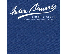 Simonis 300 Rapide Carom Billiard Cloth or Billiard Felt - Delsa Blue