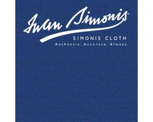 Simonis 300 Rapide Carom Billiard Cloth or Billiard Felt - Delsa Blue