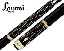 Layani Soumagne Special Edition Carom Billiard Cue - Black