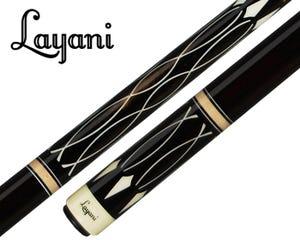 Layani Soumagne Carom Billiard Cue - Black