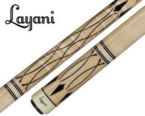 Layani Soumagne Carom Billiard Cue - Natural