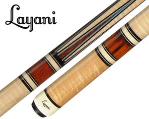 Layani Soumagne II Carom Billiard Cue - Natural