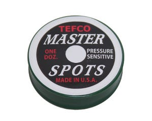 Marqueurs ronds pour table de billard Pool Master Tefco