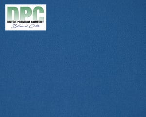 DPC Synthetic Billiard Cloth Blue - Per meter