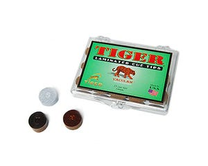 Tiger Laminated Cue Tip