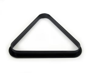 Blackball Triangel / Dreieck Kunststoff schwartz 50.8 mm