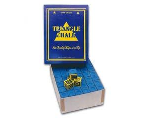 Triangle Blue Chalk - 144 pcs Box