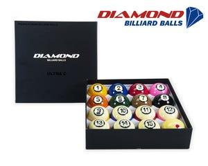 Diamond Ultra-C TV Pool Billiards Balls - 57,2mm