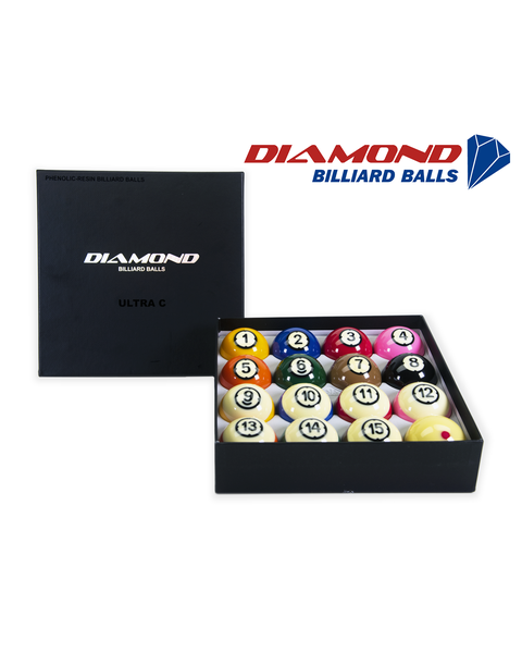 Diamond Ultra-C TV Pool Billiards Balls - 57,2mm