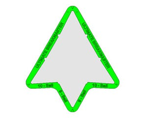 Ultimate Breakmaster - Triangle Pour la 9 et la 10 - Billard américain