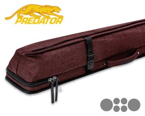 Predator Urbain 2x4 Hard cue case - Red