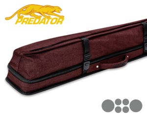 Predator Urbain 2x4 Soft cue case - Red