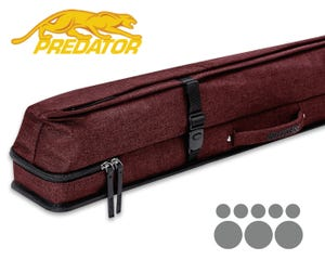 Predator Urbain 3x5 Hard cue case - Red