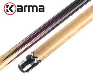 Karma Natural Vilaasita Billiard Cue - No Wrap / Shafts x2