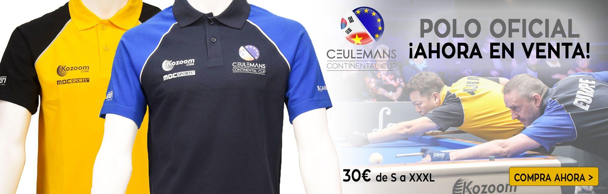 Polo Officiel Ceulemans Cup 2018