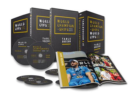 Tafelvoetbal DVD's